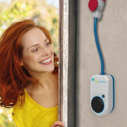 RhönStrom Emily mit Wallbox Go E-Charger