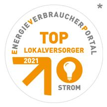 Top Lokalversorger Strom 2021